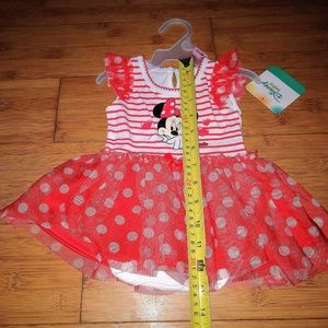 Disney Dresses - Disney Minnie Mouse Tutu Bodysuit Baby Girl Dress